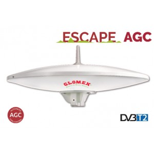 ESCAPE AGC - 37CM (10'') FULL HD TV ANTENNA WITH AUTOMATIC GAIN CONTROL AMPLIFIER