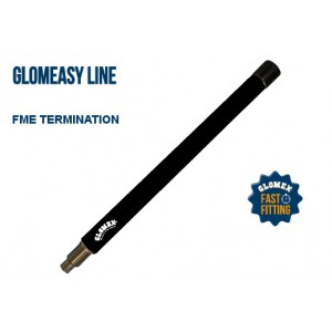 RA304/BK - 250MM (10'') GLOMEASY VHF BLACK ANTENNA