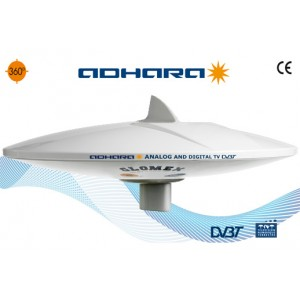 V9150/12 - Adhara - Omnidirectional  DVBT TV antennaa with 6 outputs amplifier