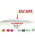 ESCAPE - C3779E - OMNIDIRECTIONAL DVBT TV ANTENNA FOR MOTORHOME - 37CM DIAM