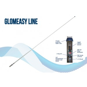 RA1225FME - Glomeasy line 2,4m VHF Antenna, FME term. - with special ferrule for easy installation