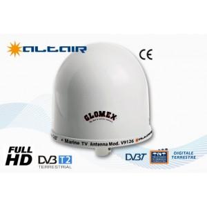 ALTAIR - V9126 - MARINE omnidirectional dvbt TV ANTENNA, 25cm