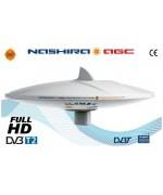 V9112/12 - NASHIRA - OMNIDIRECTIONAL DVBT TV ANTENNA with bypass amplifier