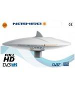 NASHIRA - ONLY OMNIDIRECTIONAL DVBT TV ANTENNA, 37cm diam.